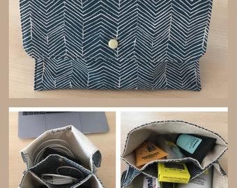 Versatile flap pouch