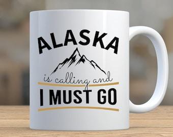 Alaska Coffee Mug Etsy
