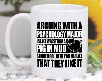 93c88a50e61 Psychology Major Mug, Psychology Mug, Psychology Gift, Psychology Major  Gift, Psych Major, Psychology Coffee Mug, Psychologist Gift