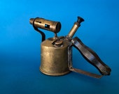 Vintage Brass Torch home decoration, metalworking tools vintage