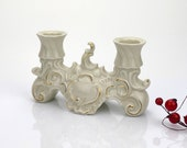 Victorian themed candlestick holder, table decoration from Germany