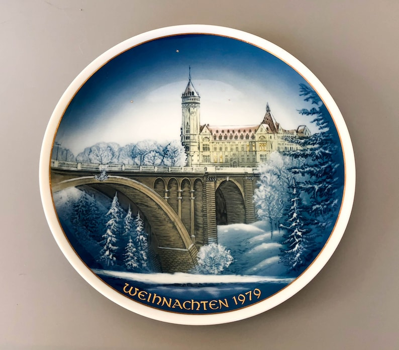 Home decor vintage plates Vintage plate from Classic Rose Collection Germany Luxemburg