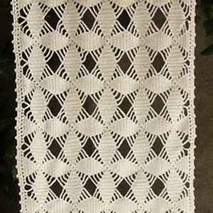 CROCHET handmade curtain breeze Kiss craft creation sylvette Raisonnier french tulips pattern