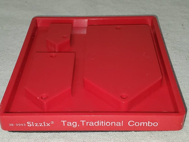 Sizzix cutting die Tag Traditional Combo  #38-0943