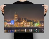 A Derry Picture of The Guildhall on the banks of the River Foyle Derry | Derry Photos | Ireland Prints | Derry Prints