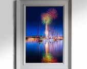 Print of Derry Clipper Maritime Festival, Derry Photos, Derry Prints, Fireworks