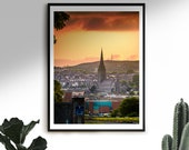 St Eugene's Cathedral | Derry Photos | Derry Prints | Sunset | Irish Art