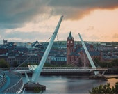 Peace Bridge Derry | Derry Photos | Derry Prints
