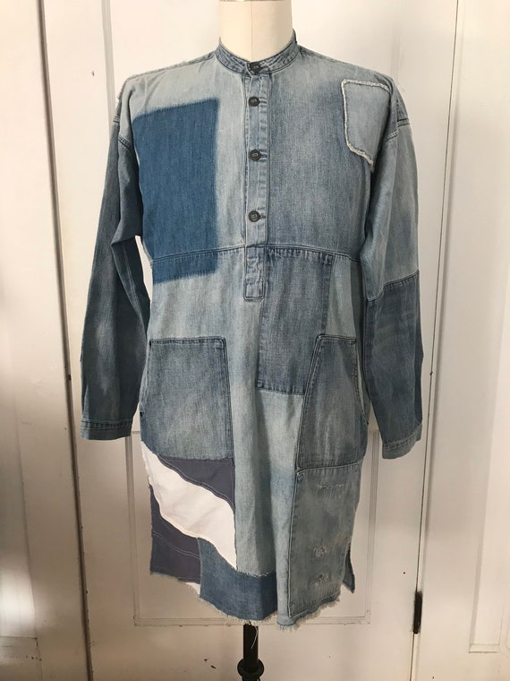 Vintage Ralph Lauren Dress Patchwork Quilt Dress B