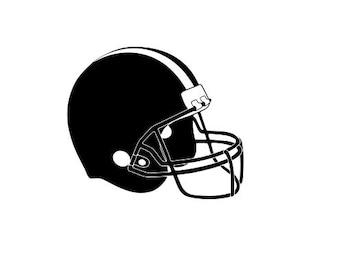 Football Helmet Svg Etsy
