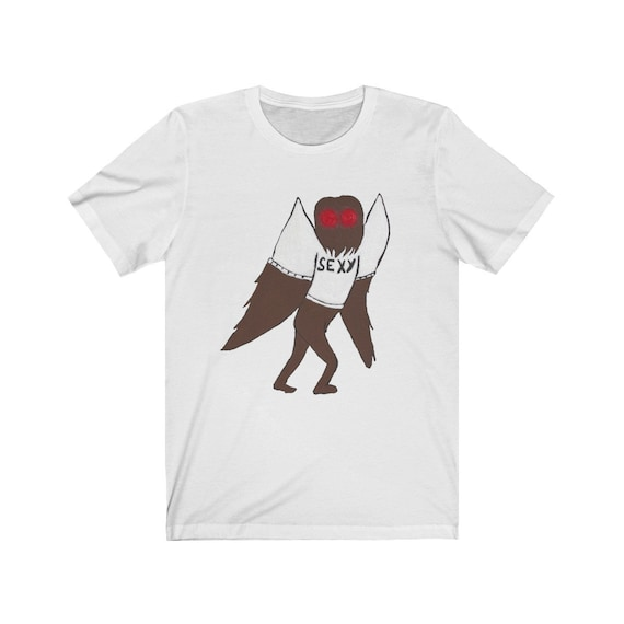 Short-Sleeve Unisex T-Shirt Cryptid Shirt Mothman Shirt