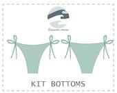 DIY Reversible String Tie Kit Bikini Bottoms PDF Sewing Pattern