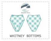DIY Reversible High Waist Whitney Bikini Bottoms PDF Sewing Pattern