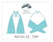 DIY 10-in-1 Bikini Top (PDF) Natalie PDF Sewing Pattern