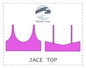 FREE Jace Top DIY Basic Reversible Bralet Bikini Top PDF Pattern