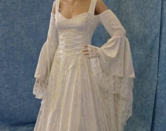 d0509e7c2e8 Off the shoulder medieval dress