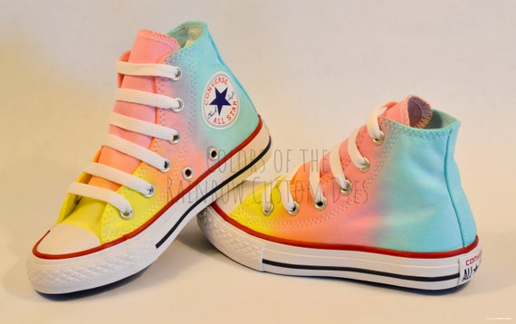 Custom Dyed Pastel Converse All Star