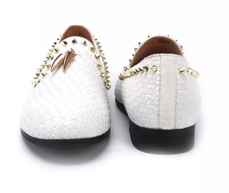 Men\u2019s Gold Tassels Loafers