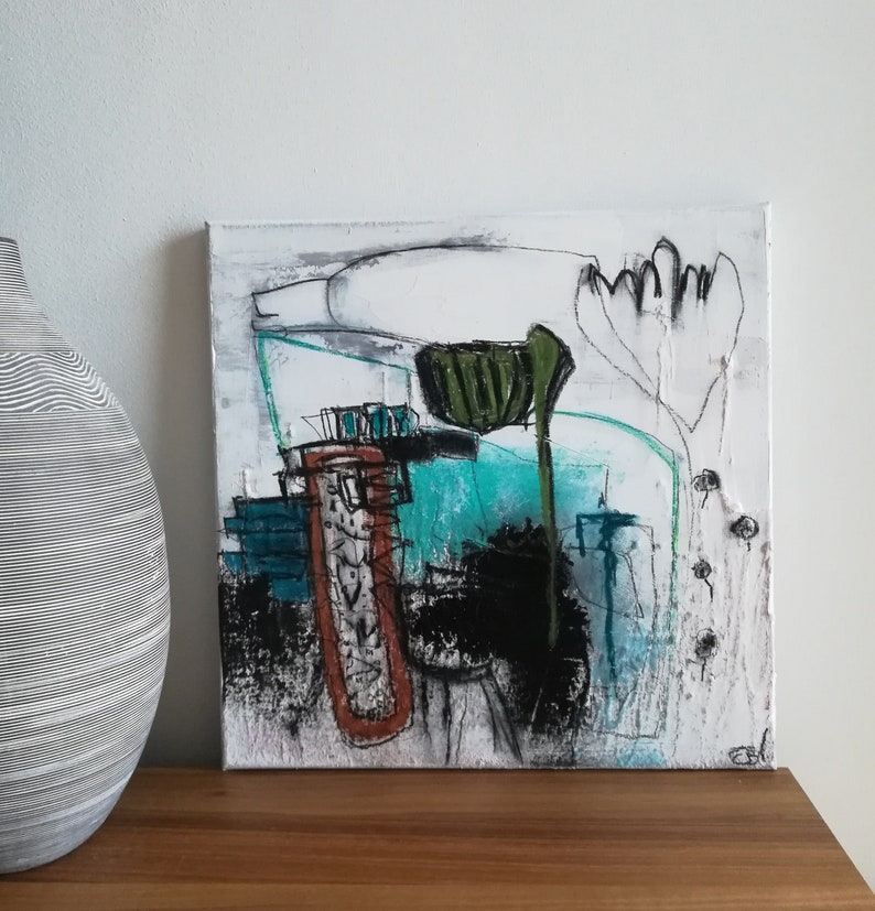 Original acrylic image on canvas, 40 cm x40cm
