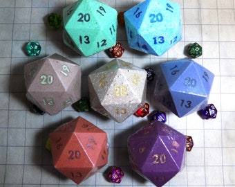 D20 Bath Bombs - DnD Spell Scents - Handmade - Fall Pre-Order *Re-stock in Progress!*