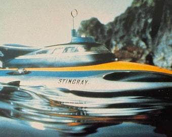 Stingray - Gerry Anderson - Stingray Vehicle - 1993 Vintage Postcard