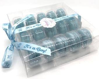 It's A Boy Macaron Gift Set! Kosher, Gluten–free, Dairy–free, Baby Gift, New baby, Baby shower, Baby macarons
