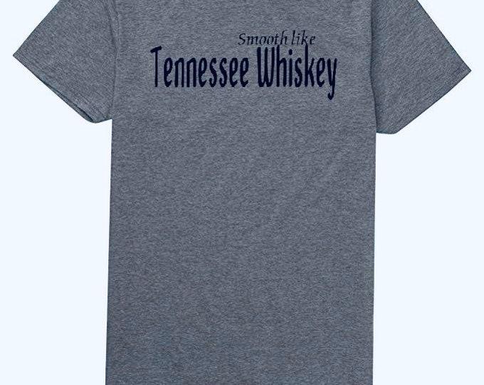 Whiskey shirt, smooth like whiskey shirt, gift for him, whiskey gift, men's gift, gift for husband, Christmas gift idea
