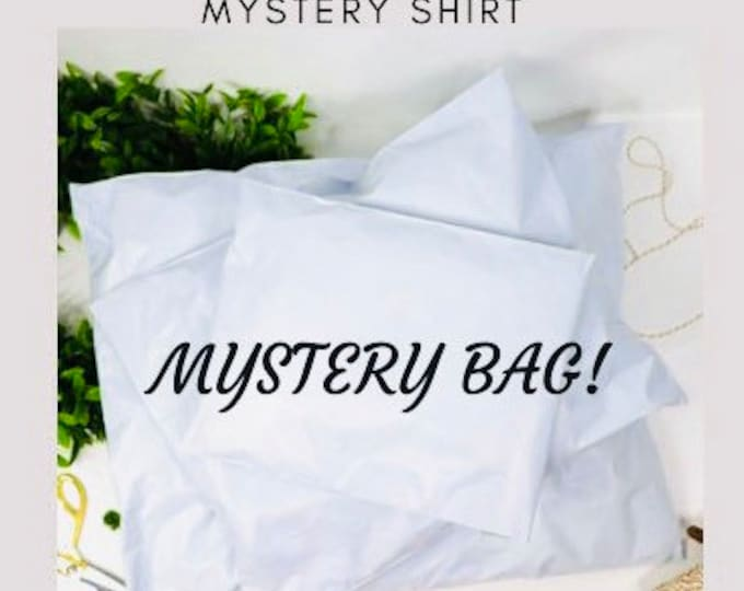 Mystery bag, two mystery shirts, mystery t shirts surprise shirt, surprise bag, grab bag, next level shirt, comfort shirt, gift for you