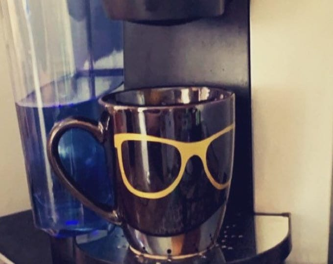Eyeglasses mug, glasses coffee mug, eyeglasses stuff, glasses lover, optician gift, GLasses, GLasses GIft, GLasses MUg
