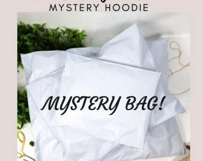 hoodie, Mystery bag, mystery box, mystery hoodie, mystery sweater, surprise sweater, surprise bag, grab bag, cant decide
