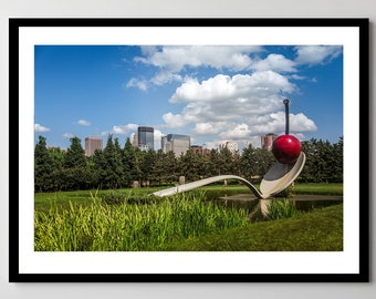 Minneapolis Minnesota Spoon and Cherry - Fine Art Photograph - Framed - Ready-to-Hang - Multiple Sizes