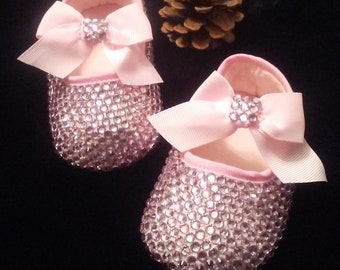 1d779173ed05 Beautiful Baby Bling Pink Shoes