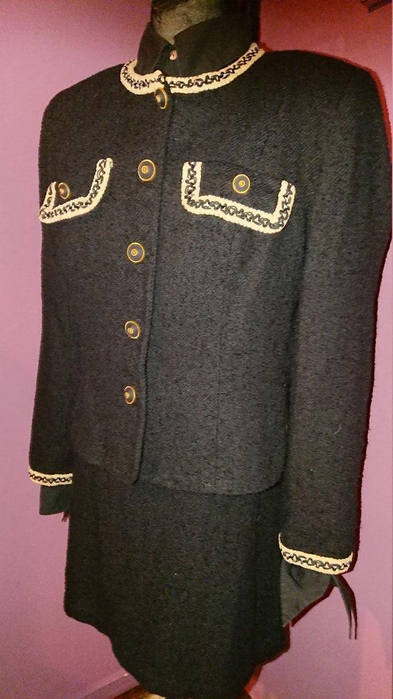 Set Dress Jacket NAF NAF brand of the 1980s tweede