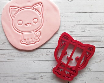 Kawaii Cat Cookie Cutter 10.0 x 9.5 cm Kawaii Cat Cutter