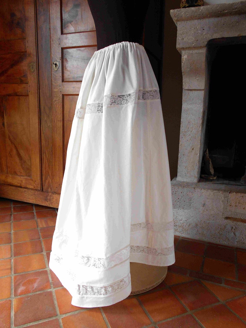 Petticoat 1900 Historical Costume Style Edwardian Or Belle Epoque Theatre And Costume