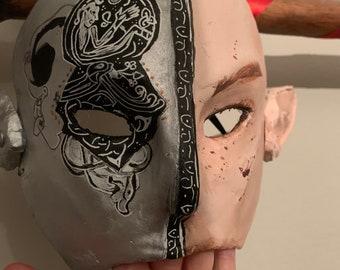 CELTIC ILLUMINATED Elf Mask