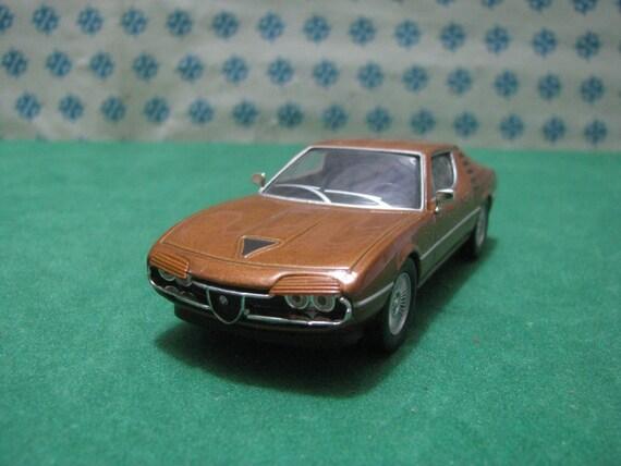 Vintage Alfa Romeo >> Vintage Alfa Romeo Montreal 1 43 Die Cast Perfetta