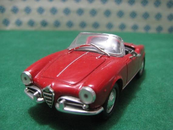 Vintage Alfa Romeo >> Vintage Alfa Romeo Giulietta Spider 1958 1 43 Solido Made In France