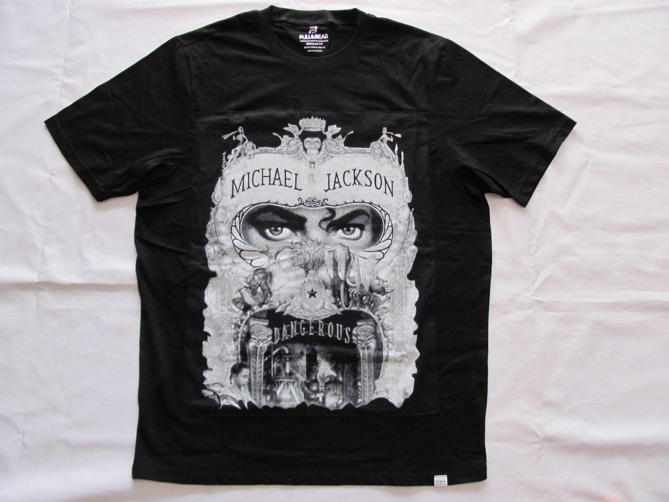80s Tops, Shirts, T-shirts, Blouse   90s T-shirts Michael Jackson Dangerous - T-Shirt Custom Vintage Original Patch 1992 100 Cotone , Tg.Size Xlarge $88.35 AT vintagedancer.com