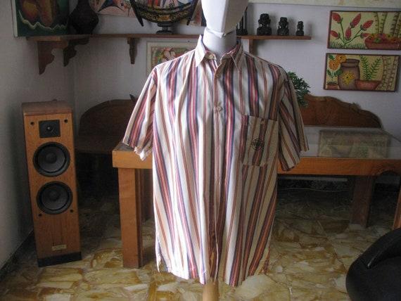 Vintage Shirt - 3 Different CAMICE Men short sleev