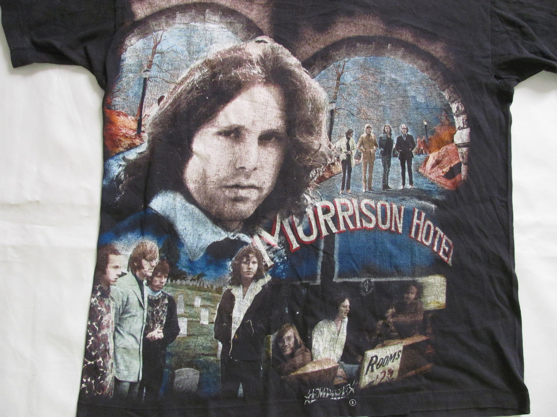 80s Tops, Shirts, T-shirts, Blouse   90s T-shirts The Doors Jim Morrison - Ultra Rare Official Vintage T-Shirt 1980S 100 Cotone , Tg.Size Medium $126.26 AT vintagedancer.com