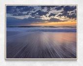 Playalinda Beach Sunrise | Seascape Prints | Beach Scene Print | Colorful Seascape | Canaveral National Seashore