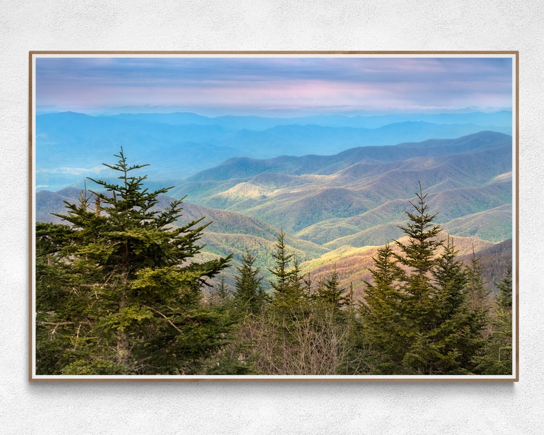 Blue Ridge Mountains Art  Great Smoky Mountains National Park image 0