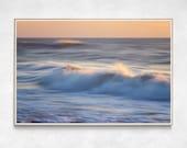 Cocoa Beach Art | Ocean Wave Print | Abstract Seascape | Abstract Ocean Art | Large Beach Wall Art | Ocean Wall Art | Abstract Art Print
