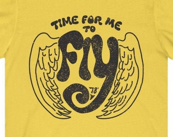 Time For Me To Fly - Premium T-Shirt / New Relationship, Moving Gift, New Business Startup, Graduation Gift