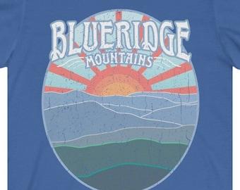 Blue Ridge Mountains Premium T-Shirt / Appalachian Trail Hike Gift, Mountain Lover, Georgia, Carolina, Tennessee, Virginia, East Coast Gift