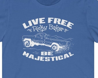 CANADA: Live Free Ricky Baker - Premium T-Shirt / Be Majestical, New Zealand, Outlaw, Master Bushman, Just Got Real, No Child Left Behind