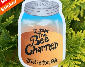 Bee Charmer Premium Stickers, Magnets / Fried Green Tomatoes, Ruth & Idgie, Movie, Towanda, Girl Power, Friendship, Whistle Stop Cafe