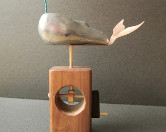 "Sperm Whale Automaton ""Whale of a Time"""