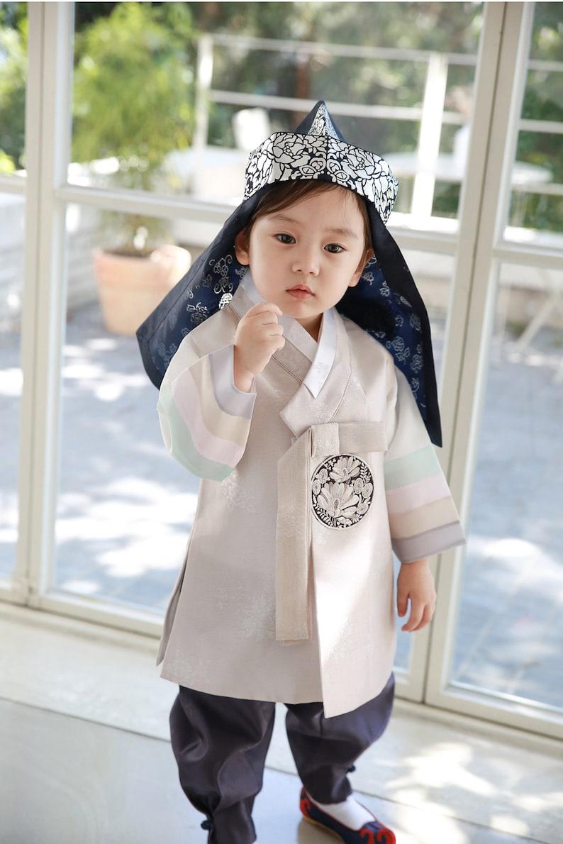 Hanbok Korean Traditional Hanbok Clothes Boy Boys Babies DOLBOK 1st Birthday Party \ud55c\ubcf5 etbo13